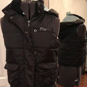Roxy zipper puffy vest